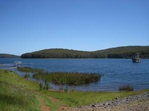 Waterreservoir voor Melbourne te Silvan