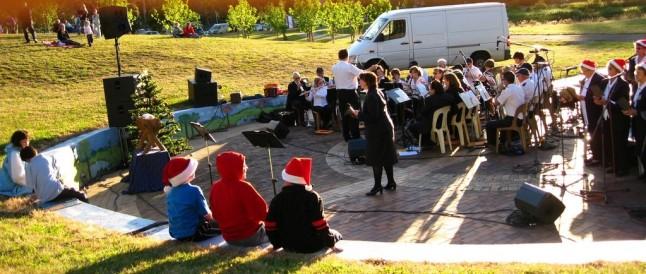 Leger des Heils zingt kerstliederen