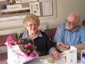 Isobel viert haar verjaardag met Neill en mooie tulpen