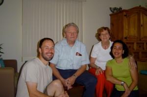 Kees & Fieke Goedhart op visite op Aruba
