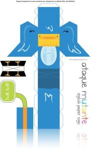 Een twittervogel om te downloaden (klik door tot je de PDF ziet) (CC) Nereski @ Flickr