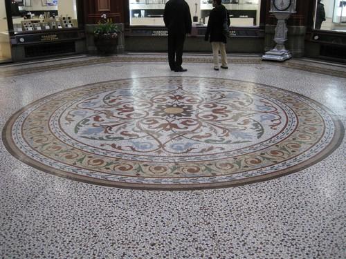 Fantastisch mozaiek in hartje Melbourne
