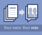 Laat Facebook je stem horen!