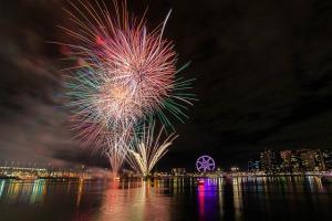 Vuurwerk Docklands, Melbourne (cc) Scott Cresswell